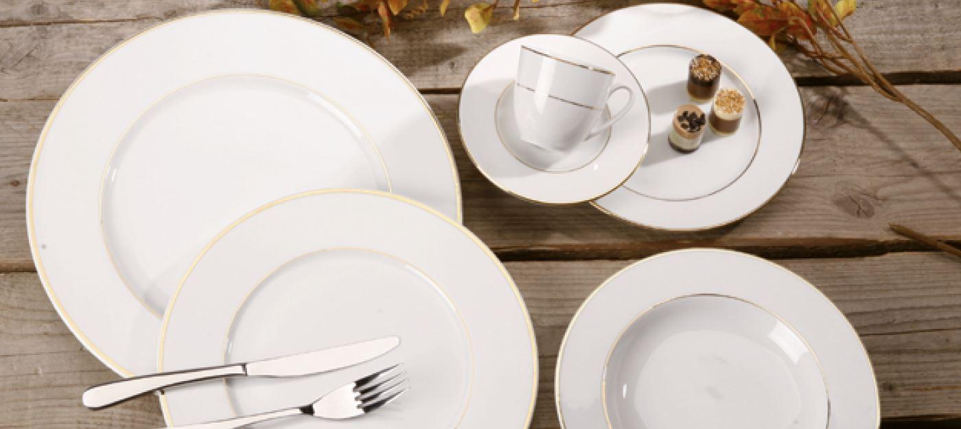 Vaisselle, nouveauté dorée pour 2021 !